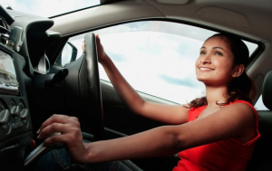 Driving Woman